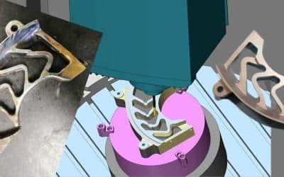 Un exemple de co-conception et d'amélioration de pièce mécanique
